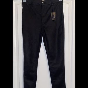NEW! Forever 21 velour high wasted skinny pants